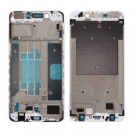 For OPPO R9s Plus Front Housing LCD Frame Bezel Plate (White)