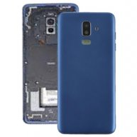 Back Cover with Side Keys & Camera Lens for Galaxy J8 (2018) / J800F(Blue)