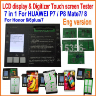 LCD display & Digitizer Touch screen panel Tester board for HUAWEI P8 P7 Mate8/7 Honor6/6plus/7 p8 lite/ p9/p8lite 2017/p10 lite