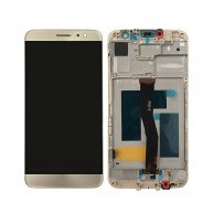 For Huawei nova plus LCD Screen + Touch Screen Digitizer Assembly with Frame-Gold