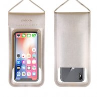 JR-CY701 IPX8 Waterproof Touch Screen Transparent Sealed Mobile Phone Waterproof Bag with Lanyard(Gold)