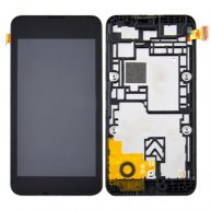 LCD Screen + Touch Screen Digitizer Assembly with Frame for Nokia Lumia 530