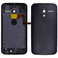 Battery Cover With Flash Lens for Motorola Moto X XT1058/ x phone-Black
