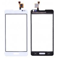 Touch Screen Digitizer Repair Part for LG Optimus F6 D500 - White