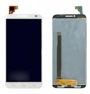LCD Screen + Touch Screen Digitizer Assembly for Alcatel One Touch Idol 2 / 6037(White)