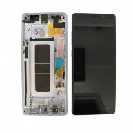 LCD Screen with Touch Screen Assembly Replacement With Frame for Samsung Galaxy Note 8 N950F Purple Ori