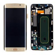 Screen Replacement With Frame for Samsung Galaxy S6 Edge+ G928F Gold HQ