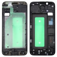 For Samsung Galaxy J730 Front Housing LCD Frame Bezel Plate(Black)