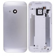 Back Cover Housing with Camera Lens and Volume Button for HTC One Mini 2(for htc) - Silver