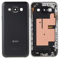 Rear Housing Battery Back Cover for Samsung Galaxy E5 / E500(Black)