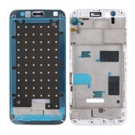 For Huawei G8 Front Housing LCD Frame Bezel Plate(White)