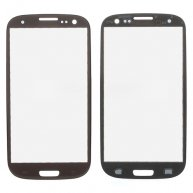 Front Outer Glass Screen Lens for Verizon Samsung Galaxy S III SCH-I535 - Brown