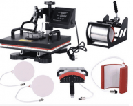 Advanced New Design 6 In 1 Combo Heat Press Machine,Sublimation/Heat Press,Heat Transfer Machine For Mug/Cap/T shirt/Phone cases