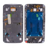 Back Cover Rear Housing with Bezel Middle Frame and Headphone Jack for Motorola Moto X+1 X2 XT1095/ XT1096/ XT1097 - Black