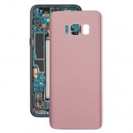 For Samsung Galaxy S8+ / G955 Original Battery Back Cover(Pink)