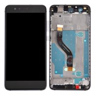 For Huawei P10 Lite LCD Screen + Touch Screen Digitizer Assembly with Frame(Black)