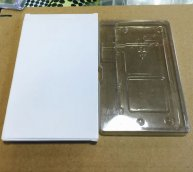 "10pcs/lots Packing Box with Transparent Holder for iPhone 7 4.7"" LCD Screen Assembly"