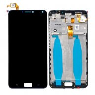 LCD Screen and Digitizer Full Assembly with Frame for Asus Zenfone 4 Max ZC554KL X00ID(Black)