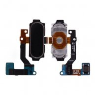 Home Button with Flex Cable for Samsung Galaxy A8 A8000/ A800F/ A800X/ A800S/ A800YZ/ A800 - Black
