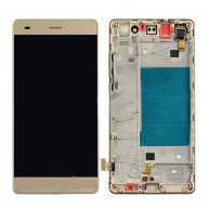 Complete Screen Assembly with Bezel for Huawei P8 lite -Gold