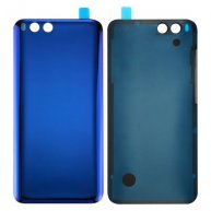 For Xiaomi Mi 6 Glass Battery Back Cover(Blue)