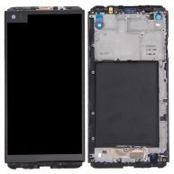 For LG V20 LCD Screen + Touch Screen Digitizer Assembly with Frame(Black)