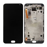 For Meizu MX5 LCD Screen + Touch Screen Digitizer Assembly with Frame(White)