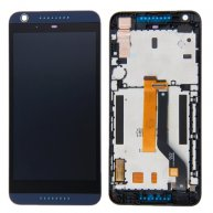 LCD Screen + Touch Screen Digitizer Assembly with Frame for HTC Desire 626 (Dark Blue)