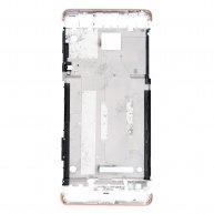For Sony Xperia XA Middle Frame Front Housing - Pink
