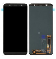 LCD Screen and Digitizer Full Assembly for Galaxy J8 (2018)(Black)