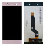 For Sony Xperia XA1 LCD Screen + Touch Screen Digitizer Assembly-Pink