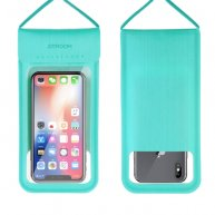 JR-CY701 IPX8 Waterproof Touch Screen Transparent Sealed Mobile Phone Waterproof Bag with Lanyard(Mint Green)