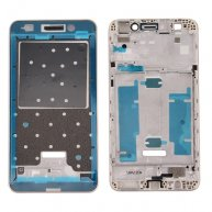 For Huawei Honor 5A/Y6 II Front Housing LCD Frame Bezel Plate(Gold)