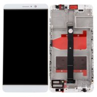 LCD Screen + Touch Screen Digitizer Assembly with Bezel for Huawei Mate 9 -White