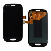 LCD Screen and Digitizer Assembly for Samsung Galaxy S III Mini I8190 -Blue