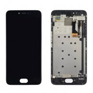 For Meizu Pro 6 LCD Screen + Touch Screen Digitizer Assembly with Frame(Black)