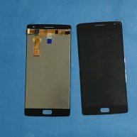 For OnePlus 2 Three A3000 A3003 LCD Display Touch Screen Digitizer Assembly-Black