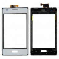 Touch Screen Digitizer with Front Cover for LG Optimus L5 E610-White