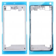 LCD Screen Housing Frame for Sony Xperia Z1 Compact / D5503(White)