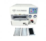TBK-508A Curved Screen Laminating and Bubble Machine LCD Edge Laminating Machines For Samsung/iPhone with 4 Set moulds