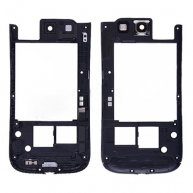 Backplate Rear Housing with Camera Lens for Samsung Galaxy SIII i747-Black