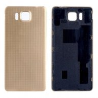 For Samsung Galaxy Alpha / G850 Original Back Cover(Gold)