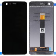 LCD Screen and Digitizer Full Assembly for Nokia 2 (Black)