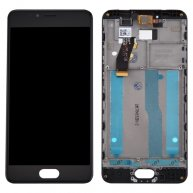 For Meizu M5s / Meilan 5s LCD Screen + Touch Screen Digitizer Assembly with Frame(Black)