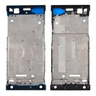 For Sony Xperia XA1 Front Housing LCD Frame Bezel Plate(Black)
