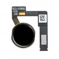 "FOR IPAD PRO 12.9"" 2ND GEN HOME BUTTON ASSEMBLY WITH FLEX CABLE RIBBON - BLACK"