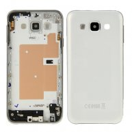 Rear Housing Battery Back Cover for Samsung Galaxy E5 / E500(White)