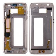 OR Quality For Samsung Galaxy S7 Edge / G935 Front Housing LCD Frame Bezel Plate-Light Blue