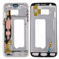 For Samsung Galaxy S7 / G930 Front Housing LCD Frame Bezel Plate(Silver)