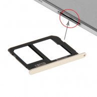 SIM Card Tray and Micro SD Card Tray for Samsung Galaxy A9(2016) / A900(Gold)